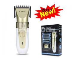 Kemei KM-0721 Adjustable Rechargeable Trimmer