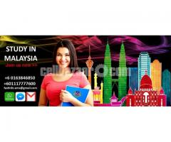 Study in Malaysia Ph.D/Master/Hons/Diploma with Scholarship
