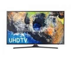"Samsung MU6100 50"" Series 6 Flat 4K UHD Smart LED TV"