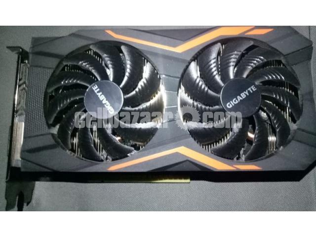 Gigabyte G1 Gaming GTX 1050Ti 4GB DDR-5 - 1/4