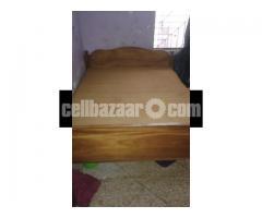 Wooden Bed (koroi)