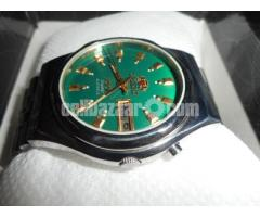 orient  royal green automatic Japanese watch