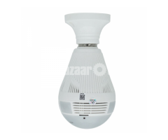 V380 360degree VR Panoramic Wireless WIFI IP Camera Connection Bulb