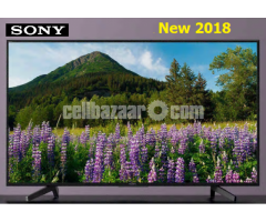 """55"""" Sony Bravia KD-55X7000F 4K HDR LED Smart Android TV"""