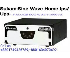 Sukam Falcon Eco Orginal Sine wave ips/Ups
