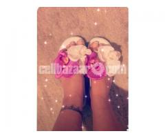 Nice flowerly sandals