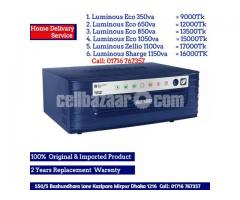 Luminous 350va to 1150va Imported Ips+Ups pure sine wave