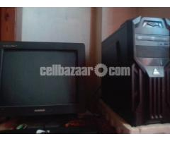 """Desktop PC Intel 6th Gen. 17"""" Monitor"""