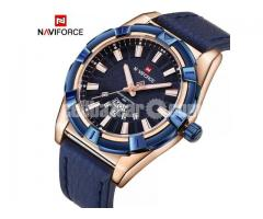 WW0059 Original Naviforce Day Date Belt Watch 9118