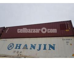 NICE USED 40' SHIPPING CONTAINER