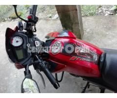 Apache rtr 150 glossy  red