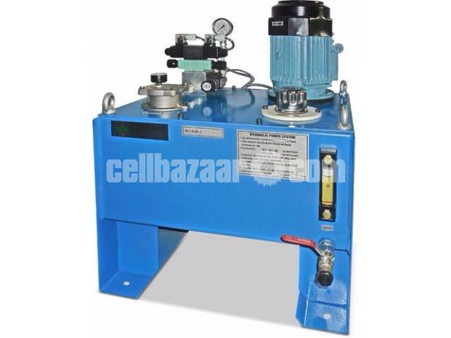 Hit pressing machine for bekolite product molding with new hydraulic power pack - 2/2