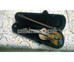 Violin with box & bow
