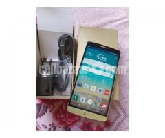 LG G3 RAM 3GB ROM 32GB ORIGINAL  NEW FULL BOX