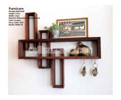 Wooden Wall Shelf (Model: FWWS 09)