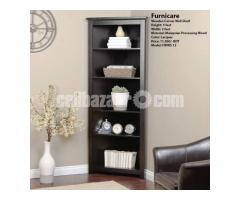 Wooden Corner Wall Shelf (Model: FWWS 13)
