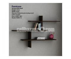 Wooden Wall Shelf (Model: FWWS 16)