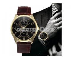 GEMIXI Fashion Leather Watch