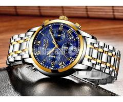 LIGE Brand Original Mens Watch