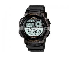 WW0475 Original Casio World Time Multi-Function Watch AE-1000W-1AV