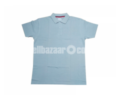 Men's POLO Shirt with Logo and Embroidery