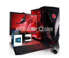 """GAMING CORE i3 7TH GEN 3.9GHz 4GB 17""""LED"""