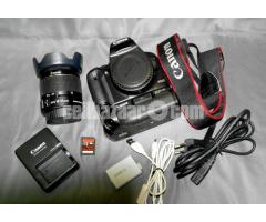 Canon EOS 450D DSLR Camera with EF-S 18-55mm f/3.5-5.6 IS II Lens Kit