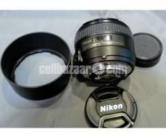 Nikon AF-S NIKKOR 50mm f/1.4G Lens FX Format