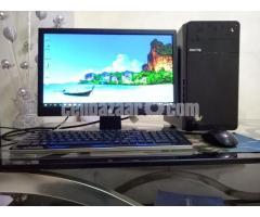 Intel-Desktop core_i5 & HP 19'' LED