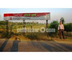 বসুন্ধরা গাজীপুর মৌচাক প্রকল্প কোম্পানির দামে ২টি  প্লট বিক্রি হবে