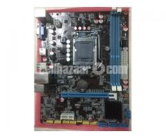 Motherboard, Processor & RAM  (TK:10,000)