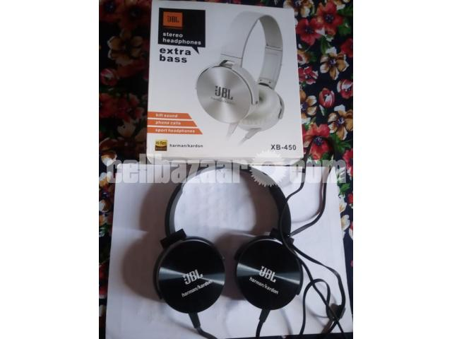JBL XB450 EXTRA BASS WIRED HEADPHONE - 1/2 ...