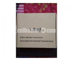Media Converter (Fiber to Ethernet)