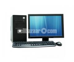 Full fresh running PC 3000 gb harddisk
