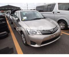 Toyota Axio X Beige Color 2013 New Shape