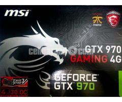 MSI Geforce GTX-970 4GB DDR5 4G  AGP CARD