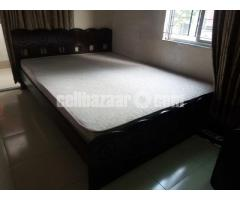 Otobi Double Bed with Mattress