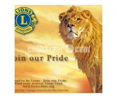 Join in Lions Clubs International