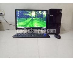 "Core i5 intel Desktop with HP 19"" LED"