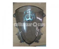 R15 v3 windshield