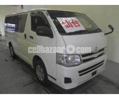 Toyota Hiace GL WHITE MODEL 2013