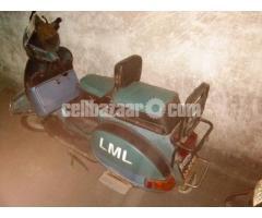 Scooty LML t5 150cc
