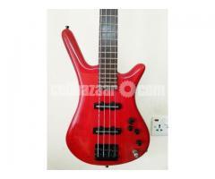 Warwick rockbass bass guitar