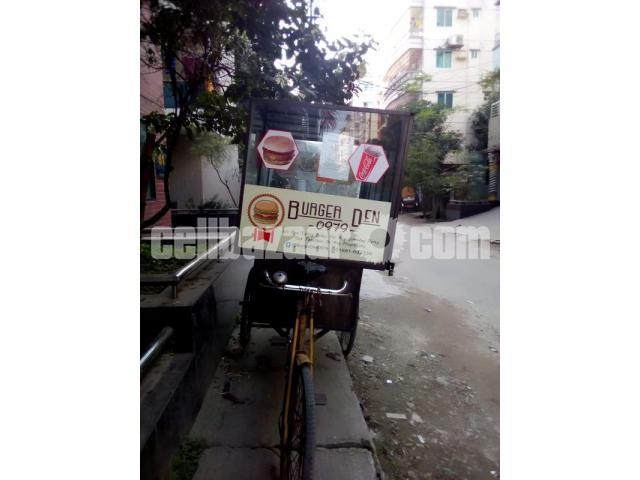 Food cart van for sell - 1/3