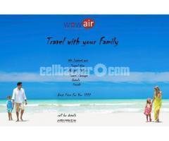 Visa- Air Tickets - Tour Package- Umrah
