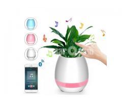 Smart flower pot With Bluetooth Speaker