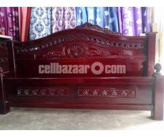 Malayasian Bed 5 feet  by 7 feet