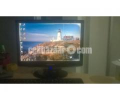 Dual Core Desktop Cpu & Samsung 17' Led Monitor