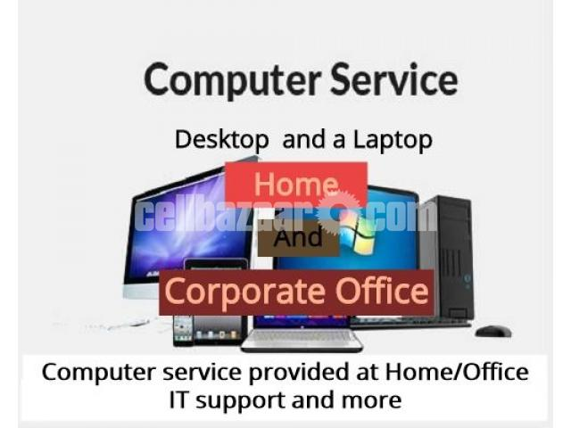 Computer services provided at Home/Office - 1/3