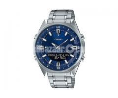 WW0111 Original Casio Stainless Steel Analog Digital Watch AMW-830D-2AV